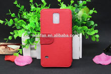 Sublimation Cell Cover Blank Sublimation Custom Leather Mobile Phone Case for Samsung S5 Hot Selling