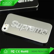 nice model for aluminum chrome gold iphone case