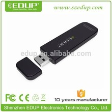 New arrival dual band 5.8G +2.4G 600Mbps wireless indoor usb lan network cards support long distance EP-DB1301