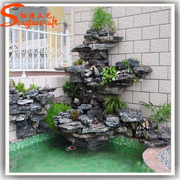 Home decor high quality garden decorative stone wall for Cascadas de agua artificiales para jardin