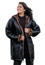 Women Custom Tailor Made FUR Genuine Nappa Sheep Leather Biker Jacket