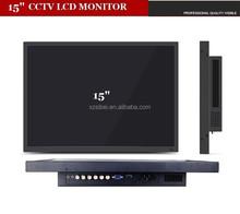 "Stock 15"" wireless cctv camera outdoor monitor with 3G-SDI HDMI YPbPr Audio Video"