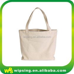 Custom Organic Blank Tote Bag With Handle
