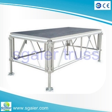 Wedding stage,mobile stage,used stage for sale with CE, TUV certification