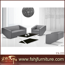 luxury carved office leather sofa set , hotel sofa set , living room sofa set TX-222
