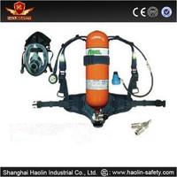 CE approval Self-contained breathing apparatus SCBA Used For Firefighting/steel breathing apparatus