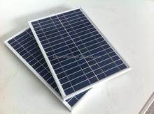 High efficiency 25W poly solar panel