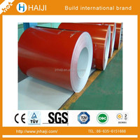 environment protect building materials PVDF paint film color galvanized steel coil