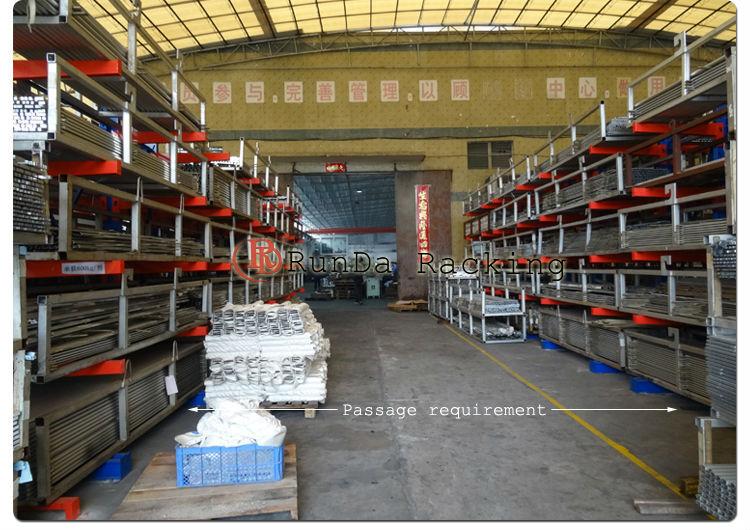 warehouse rack shelf shelves Sided cantilever rack (4)