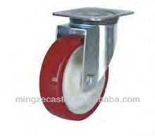 Mingze 810 series Nylon Polyurethane Swivel Industrial Casters and wheels