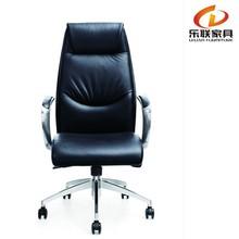 Foshan Lelian brand leather upholstery luxury executive chairA012