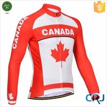 Team Design Long Sleeve Custom Wholesale Cycling Wear
