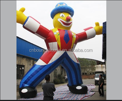 Customized giant inflatable clown for advertising