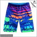 2015 hot venda nova chegada barato colorido homens calções de praia