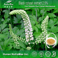 High Quality black cohosh extract 2.5%,cimicifuga racemosa extract,actaea racemosa extract