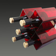 High quality customized acrylic wine bottle holder