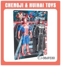 Figura de acción de juguete batman y Spider-Man con luz nueva 2016