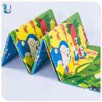 EN71 Standard Colorful Folding Baby Floor Activity Play Mat