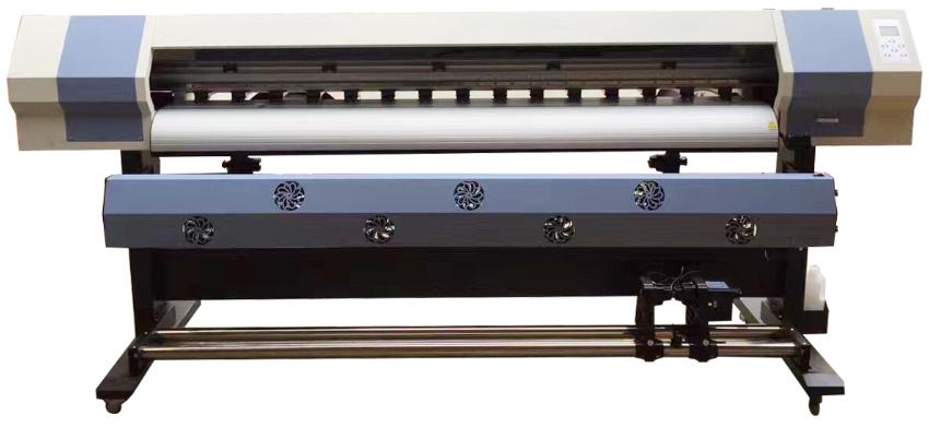 6 Feet Dx5 Head Eco Solvent Printing Plotter Printing