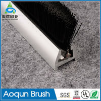 Wholesale airport building escalator safety brush