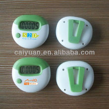Facturer supply mini calorie burn measure larger LCD display step counts pedometer with belt clip