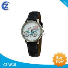 Army Style Mens Wrist Watch Curren Waterproof Quartz Men's Military Genuine PU wrist Watch