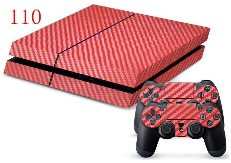 110 ps4 cabon fiber red_