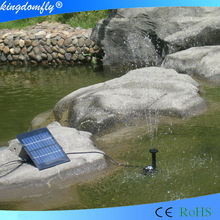 2015 DC solar swimming pool pump for family
