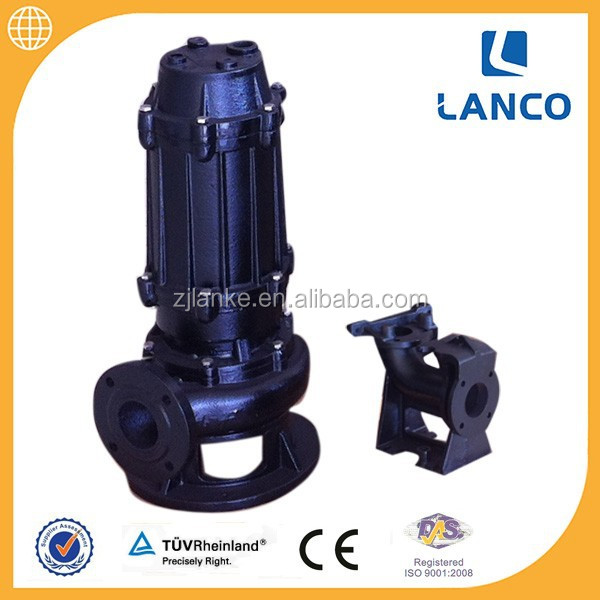 QW Sump Handling Centrifugal Submersible Pump