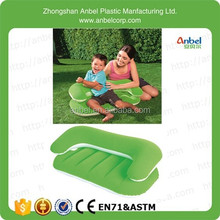 Anbel Portable Children Air Sofa Mini Inflatable Flock Kids Lounge for Ages 3~6