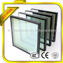 Shandong Weihua brand customized awning window U value 1.27w/m2.k