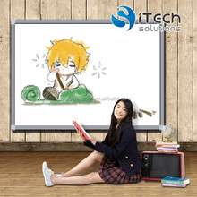 STOCKS PROMOTION 85 inch 6 touch 4 touch school IR smart classroom interactive whiteboard