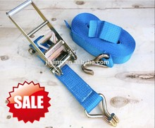 factory supply CE GS trailer ratchet tie down/motorcycle handlebar tie down straps/lashing straps uk