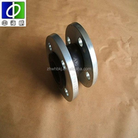 flexible single ball epdm double-sphere flanged rubber expansion joints