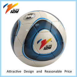 Hand stitched 3# soccer ball with beautiful style