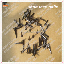 Q195 materials blue shoe tack nails from china manufacture/shoe tack nails use on shoes ,leather,or furniture