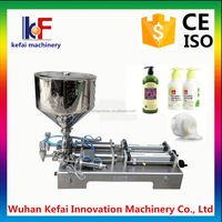 Stainless Steel Semi-Automatic Pneumatic Cream Cheese Filling Machine