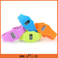 silicone strap watches with CE standard