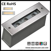 316 stainless steel long led underground light