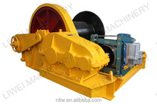 new design 200KN marine type electric winch in 2015