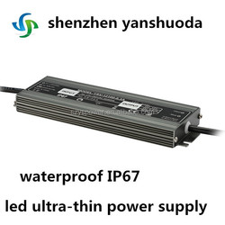 80w atx power supply led ultra-thin power supply waterproof hot sale