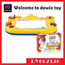 Children learning games kids educational toys dry wipe whiteboard for toddlers