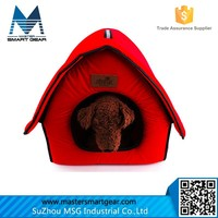 Wholesale Indoor Fabric Pet House Lovely Foam Pet House for Dogs