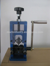 Manual wire cutting and stripping machine in cable making equipment SD-25