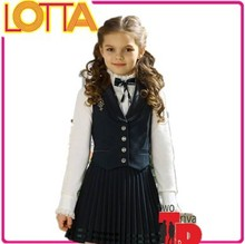 OEM factory price russian children hot girls high school uniform