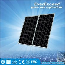 EverExceed 255W Polycrystalline Solar module for solar system combined in container with TUV/VDE/CE/IEC certificates