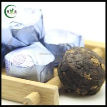 Tuocha Puer Tea Original Ripe Ginseng Herbal Flavor,Original Ginseng Hebal Mini Puer Tuocha