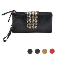 Vintage Classic Rivets Synthetic Leather Bags Evening Bags Handbag