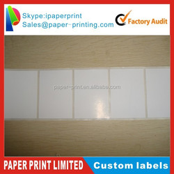 Roll print transparent bopp cosmetic label,adhesive packaging stickers wholesale
