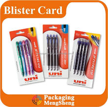 Package Design for Uniball Hang Sell Blister Pack
